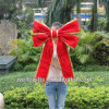 Red Decoration Bow Christmas Bow with LED Light