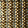 Goldleaf Glass Tile, Golden Mosaic, Mosaic Wall Tile