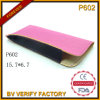 P602 Leather Material Thin Shape Pouch Manufactured