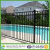 Aluminium Pool Fence Panel 2.4m - Flat Top Black 1200X2400 Garden Fencing