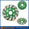 Hand Tools Turbo Type Diamond Cup Wheel for Grinding Marble