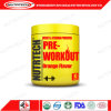 Orange Flavor Pre-Workout Powder for Sports Nutrition Supplement