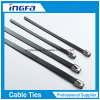 Stainless Steel Cable Tie Ball Locked with PVC Coated
