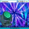 19PCS 15W Big Bee Eye 4in1 RGBW LED Moving Head