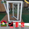 PVC Residential House Tempered Glass Casement Swing out Windows