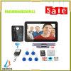9 Inch RFID Password Recording Video Doorphone Intercom with Various Ways to Unlock