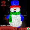 LED Christmas Yard Decorative 3D Snowman Light for Street