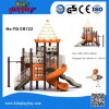 Kidsplayplay Commercial Children Slide Equipment Plastic Outdoor Playground Castrle Series