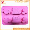Custom Silicone Kitchenware Silicone FDA/Food Grade Cake Mold Bakeware (XY-HR-47)