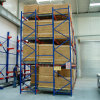Push-Back Rack for Warehouse