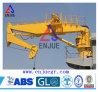 50t Semi Foldble Arm Offshore Crane with Kunckle Boom Crane