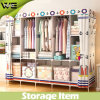 Foho Two Layers Habitat Home Furniture Cloth Wardrobe