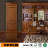 Oppein Brown Euroupe Style Wood Veneer Door (YDE001D)