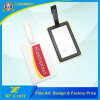 Wholesale Customized Silicone/Silicon/Soft PVC Rubber Luggage Name Tag for Bag (XF-LT07)