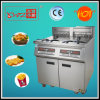 Two Tanks Four Baskets Electric Deep Fryer with Oil Filter