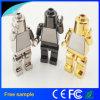 2017 New Cool Robot Metal USB Flash Memory 16GB
