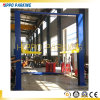 Two Post Clear Floor4500kg Auto Car Maintenance Lifters