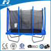 Blue Color Kids Trampoline Outdoor Trampoline with Enclosure, 20 Years Trampoline Production Experience