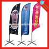 Promotional Outdoor Advertising Beach Flag