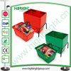 Plastic Shopping Wheel Basket for New Stores and Shops