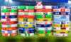 Manufacturer Sports Olympics Country Flags Eco-Friendly Printing Silicone Wristband