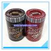 Round Metal Tin Box for Chocolate