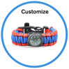 Paracord Survival Bracelet with Custom Logo 550