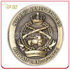 High Quality Antique Bronze Plated 3D Metal Challenge Coin