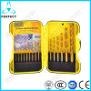 Tin Coated Straight Shank 15PCS HSS Twist Drills Set