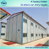 Steel Frame Prefabricated House at Site