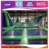 Professional Olympic Sports Trampoline in Trampoline Park