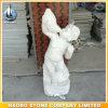 Granite Hand Carved Stone Statue Garden Decoration