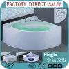 Beauty LED Bubble Sanitary Ware Whirlpool Hot Bathtub (5203C)