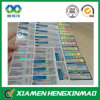 2015 Custom Printed Full Color Glossy Laminated Paper Labels for Vials