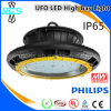 LED Highbay Light of UFO Shape Philips Smds&Meanwell Driver