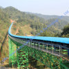 High-Tech Long-Distance Curved Conveyor with CE Certificate
