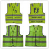 Polyester Safety Waistcoat with High Reflective Strip for Roadway