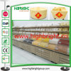 Wooden Storage Display Rack for Grains in Supermarket