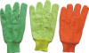 Hi Viz Fluorescent Red Cotton Work Glove--2104