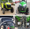Hot Sale High Quality 50HP 4WD Garden Tractor From China with Imiplements Dic Plough/Loader/Trailer