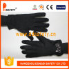 Ddsafety 2017 Black Cotton or Polyester Gloves with Mini Dots on Palm