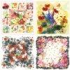 New Style Print Flower Shawl Silk Scarf (F-003)