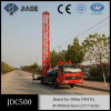 Jdc500 Water Drilling Rig Truck Mounted on Single-Diff Truck Chassis