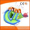 Updated Kids Mini Inflatable Dual Lane Slide Water Park T11-303