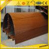 6063 Wood Grain Aluminum Window for Interior Decoration