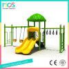 Metal, LLDPE Plastic Outdoor Furniture Slide with Swing