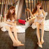 Breast European Silicone Love Doll Skelet Solid Sex Dolls
