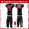 Wholesale Personlized Polyester Lycra American Football Uniform Set (ELTAFJ-85)