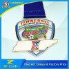 Manufacturer Custom Zinc Alloy Die Casting Metal Medal for Sports Souvenir (XF-MD01)