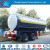 Clw9227 2 Axle 23.3cbm Chemical Liquid Transporting Semi Trailer